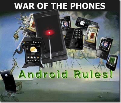 guerra de moviles