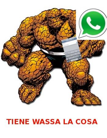 Me encanta cotillear, y en Whatsapp también.